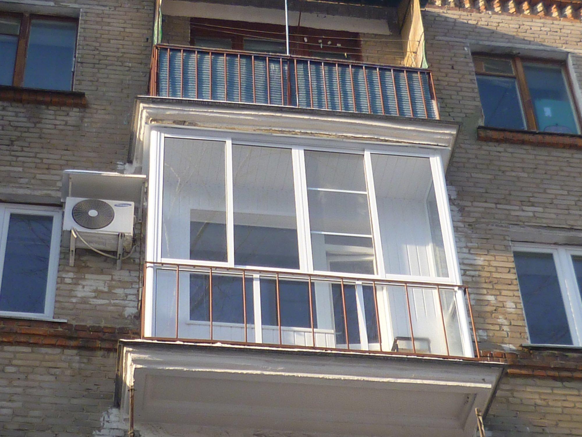 Остекление балконов и лоджий: пвх или алюминий ремонт и деко.