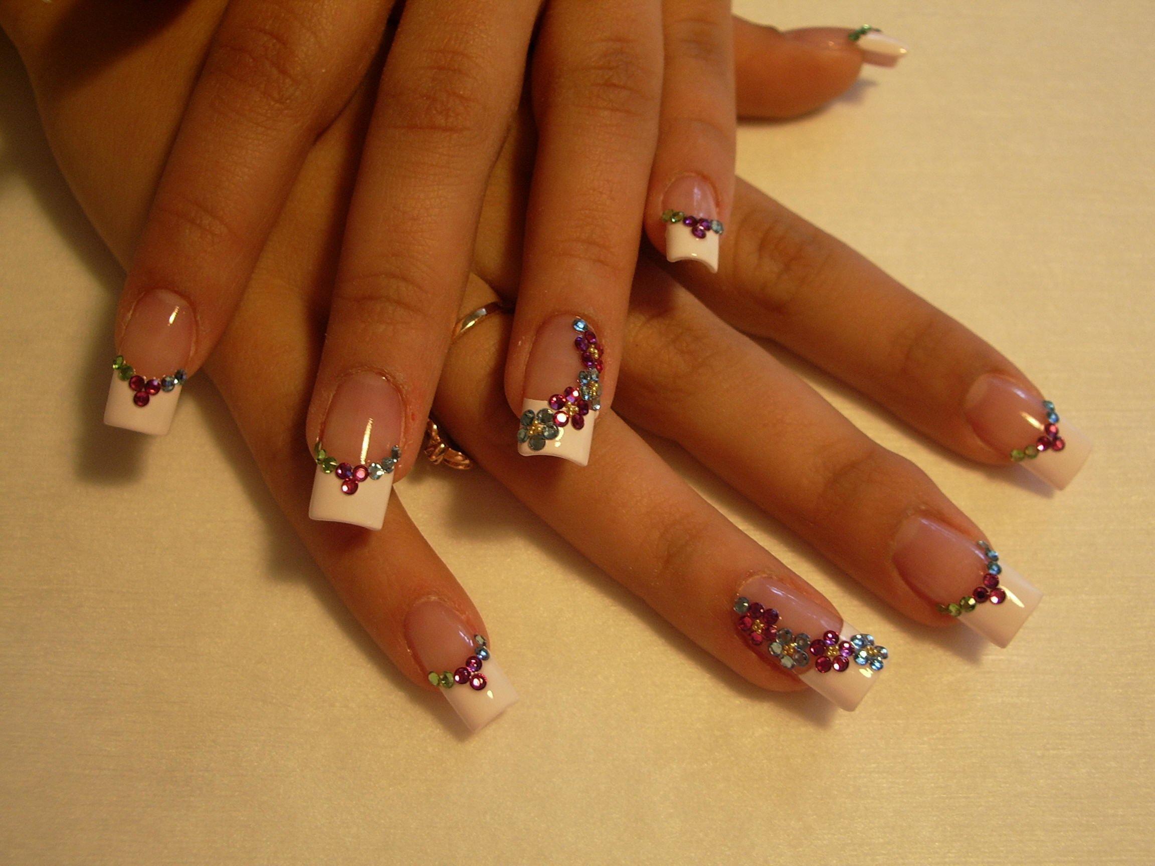 Шикарный дизайн ногтей фото