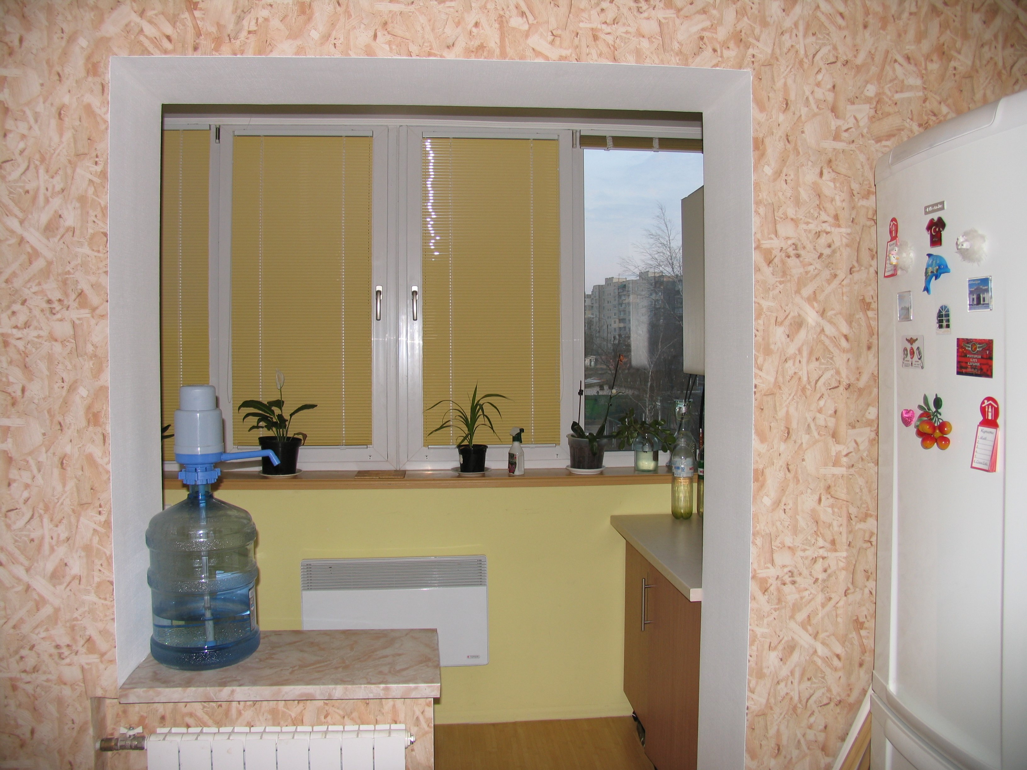 Кухни за счет балкона. - остекление - каталог статей - балко.