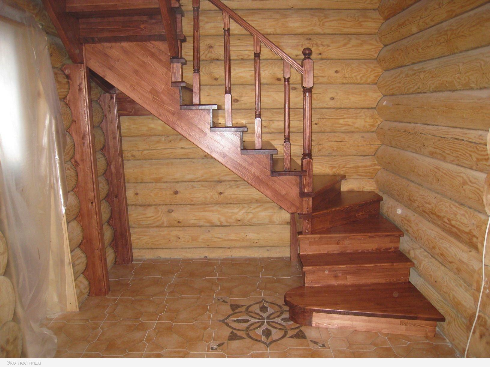Как сделать своими руками межэтажную деревянную лестницу