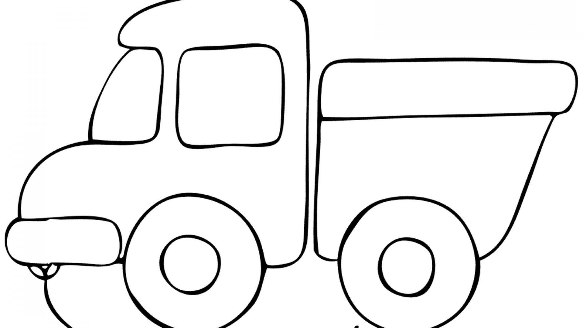 Раскраска грузовик - 5