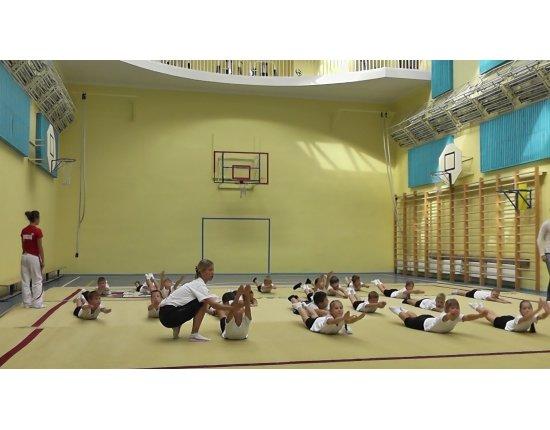 Скачать Фото уроки физкультуры в школе 1920x1080 px