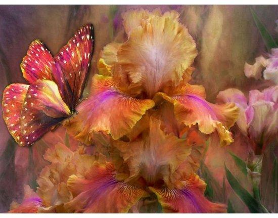 Скачать Красивые рисунки цветов фото 1024x768 px