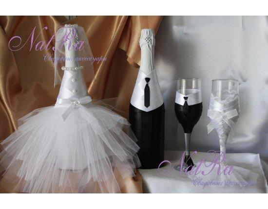 Свадебное шампанское с фото своими руками