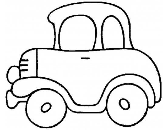 Раскраска для малышей картинки - 1