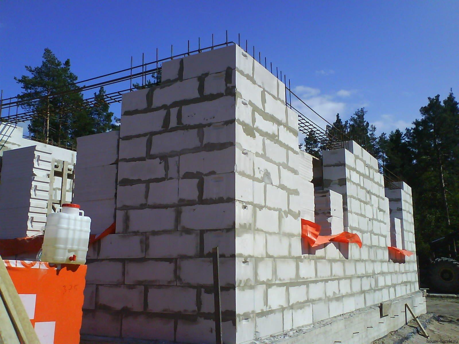 Как мы строили дом из газобетона