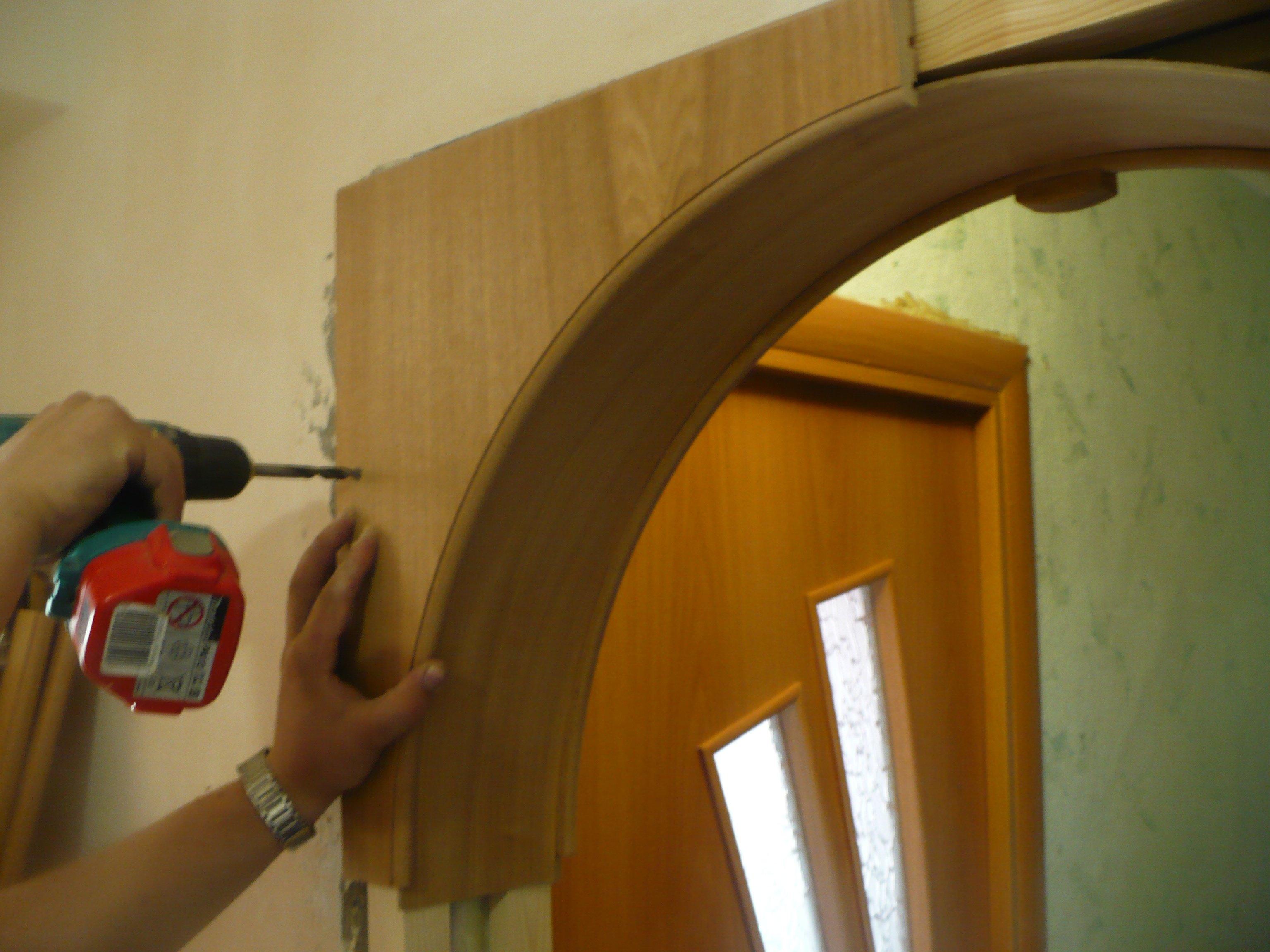 Видео как сделать арку на кухне своими руками