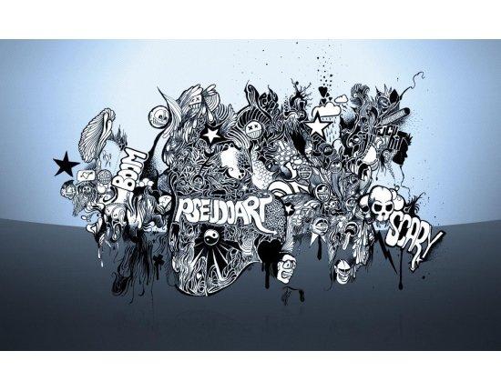 Нарисованный смайлик граффити фото 5: fotoham.ru/picture.php?id=37431