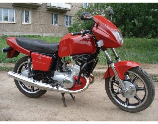 Скачать Мотоцикл восход тюнинг фото 1280x960 px