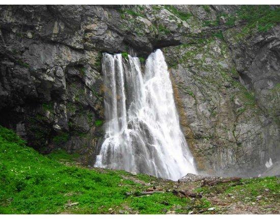 Скачать Гегский водопад в абхазии фото 800x600 px