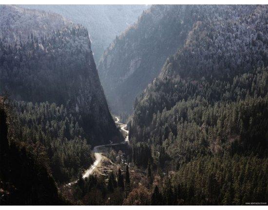Скачать Абхазия армянское ущелье фото 800x600 px