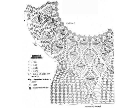 1000 узоров вязания спицами схемы. Женские модели крючком верх - страница 5 - Диета онлайн
